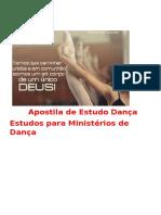 Apostila de Dança Para Estudos de Ministério de Dança