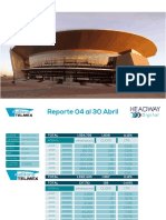 Reporte Auditorio Headway 04 Al 30 Abril