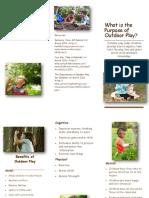 outdoor play brochure