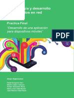 Metodología y Desarrollo de Proyectos en Red - Práctica Final
