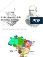 Proclamación de La República de Brasil