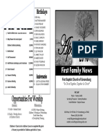FBC Newsletter 4 2016