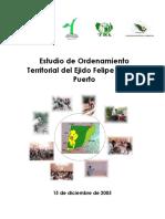 ordenamiento territorial comunitario Carrillo