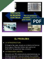 Proyecto de Mejora - Por Un Ambiente Saludable y Seguro Hospital San José Callao