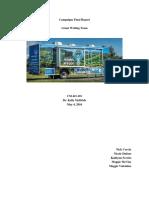pr campaigns final report