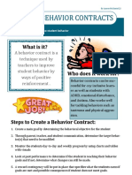 behaviorcontract handout