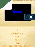 Presentation on Nces