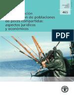 BUENO La Conservacion y Ordenacion de Poblaciones de Peces Compartidas Aspectos Juridicos y Economicos