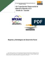 Tema 6 Mujeres y Estrategias de Desarrollo Rural