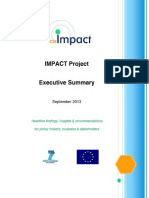130915 EU CSR IMPACT Project - Executive Summary
