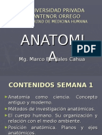 Anatomia Como Ciencia