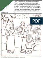 Madres de La Biblia - Paginas Para Pintar