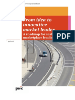 Pwc From Idea to Innovative Market Leader a Roadmap for Sustainable Marketplace Lending Growth