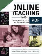 Online Teaching in K-12 Sample Chapter