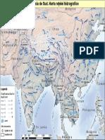 Asia - Rețeaua hidrografică