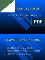 EVOLUCION HISTORICA