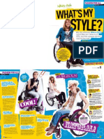 GEM - New Look's internal magazine makes-over Rebecca, wheelchair-user, 16.