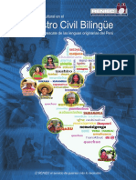 Gestión Intercultural en el Registro Civil Bilingüe