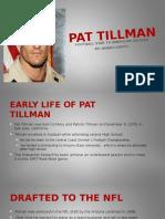 final project pat tillman