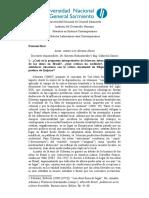 Examen de Historia Latinoamericana Contemporánea (Arturo Lev)
