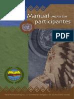 Manual Para Participantes-cumbre de Pueblos Indigenas