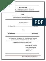 b.r.rathore Administrative Law Moot