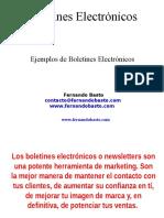 boletines electronicos