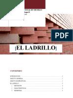 INFORME SOBRE EL LADRILLO