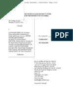 Complaint, Wheaton College v. Sebelius,