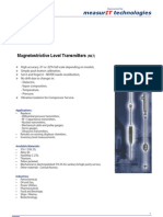 MeasurIT KTek Magnetostrictive Level Transmitters 0807