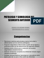 PATOLOGIA SEGMENTO ANTERIOR