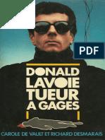 Donald Lavoie - Tueur a Gages