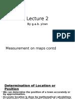 Lecture+ 5 map interpretation _measurements_