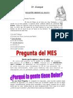 Boletin Mensual Mayo 2016