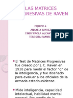 Las Matrices Progresivas de Raven