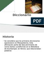 Tipos de Diccionario y Estructura
