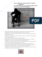 homelessness fact sheet revision