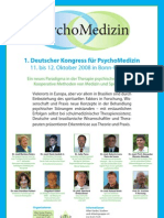 Medical Spiritist Congress Germany 2008