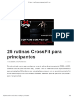 25 Rutinas CrossFit Para Principantes _ EstiloRX