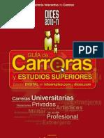 Guías DICES 2010-2011 de Carreras y Estudios Superiores