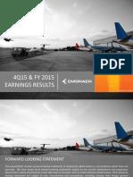 Embraer 4q15 Results Final v2