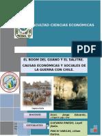 Boom Del Guano y El Salitre y La Guerra Del Pacifico