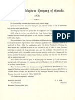 1908 Bell Annual Report