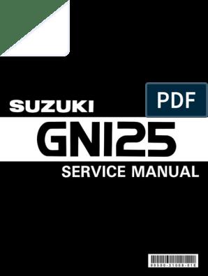 gn 125 | ignition system | transmission (mechanics)  scribd