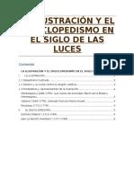La Ilustración y El Enciclopedismo en El Siglo de Las Luces
