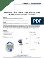 MeasurIT KTek MT5000 Application Sanitary Tanks 1001
