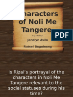 Characters Part 2