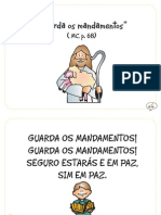 """Guarda os mandamentos"" (MC, p. 68)"