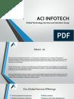 ACI Infotech Solutions Synposis