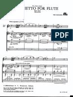 Adagietto for Flute (Ted Huggens)